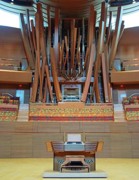 Walt Disney Concert Hall, Glatter-Götz Rosales organ, Los Angeles, California