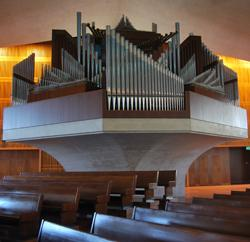 Fratelli Ruffatti organ, Cathedral of St. Mary of the Assumption, San Francisco
