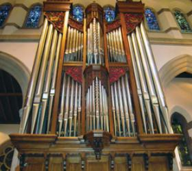 Cathedral Church of St. Paul, Detroit, Michigan, Pilzecker organ